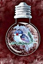Bluebird in a Snowglobe