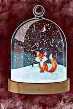 Fox in the Snow Snowglobe