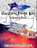Christmas Magic Love Coloring Book