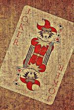 Red Joker Playing Card