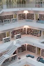 Inside the Stuttgart, Germany City Library