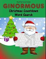Ginormous Christmas Countdown Word Search