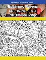 Baltimore Ravens 2016 Offense Coloring Book
