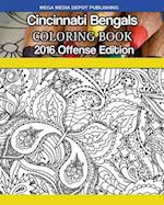 Cincinnati Bengals 2016 Offense Coloring Book