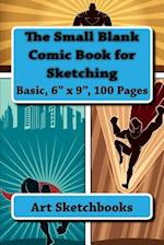 The Small Blank Comic Book for Sketching