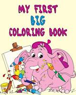 My First Big Coloring Book