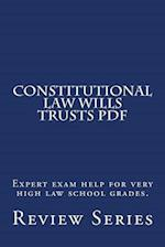 Constitutional Law Wills Trusts PDF