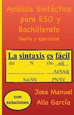 Analisis Sintactico Para Eso y Bachillerato