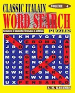Classic Italian Word Search Puzzles. Vol. 4