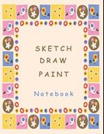 Sketch Draw Paint Notebook