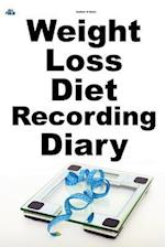 Weight Loss Diet Recording Diary