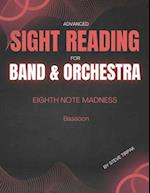 Eighth Note Madness - Bassoon