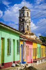 Colorful Traditional Houses and View of a Cathedral Trinidad Journal