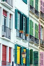 Colorful Shutters on Houses in Bayonne France Journal