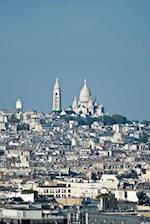 View of Monmartre and the Sacred Heart Cathedral Paris France Journal