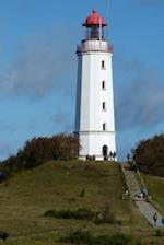 The Lighthouse on Hiddensee Island in Germany