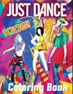 Just Dance Kid's Coloring Book