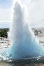 The Great Geyser in Iceland