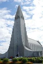 The Hallgrimskirkja Cathedral in Reykjavik, Iceland