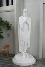 The Hallgrimskirkja Cathedral Statue of Jesus in Reykjavik, Iceland