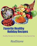 Favorite Healthy Holiday Recipes