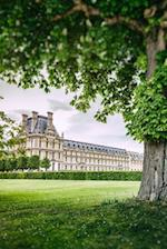 Louvre Museum and Tuileries Garden in the Spring in Paris France Journal