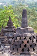 View of Borobudor Buddhist Temple in Magelang Java Indonesia Journal