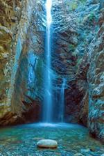 Millomeris Waterfall Platres, Cyprus Greece Journal