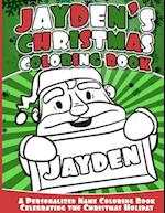 Jayden's Christmas Coloring Book