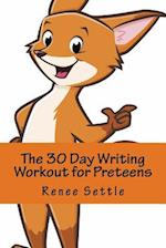 The 30 Day Writing Workout for Preteens Orange