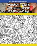 Houston Texans 2016 Offense Coloring Book