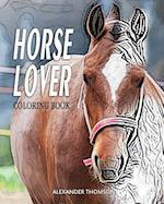 Horse Lover Coloring Book
