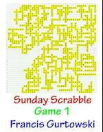 Sunday Scrabble Game 1