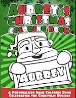Aubrey's Christmas Coloring Book