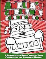 Amelia's Christmas Coloring Book