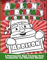 Addison's Christmas Coloring Book