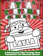 Layla's Christmas Coloring Book