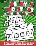 Hailey's Christmas Coloring Book