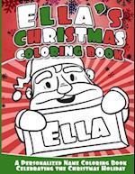 Ella's Christmas Coloring Book