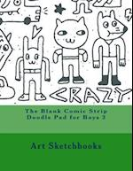 The Blank Comic Strip Doodle Pad for Boys 3