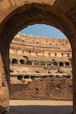 Roman Colosseum Arch in Rome, Italy