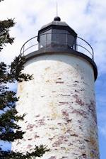 A Lighthouse on Baker Island in Maine