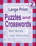 Large Print Puzzles and Crosswords