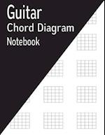 Guitar Chord Diagram Notebook