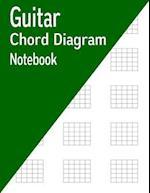 Guitar Chord Diagram Notebook