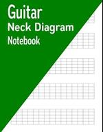 Guitar Neck Diagram Notebook