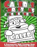 Caleb's Christmas Coloring Book