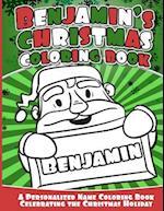 Benajmin's Christmas Coloring Book
