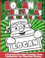 Logan's Christmas Coloring Book