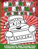 Matthew's Christmas Coloring Book